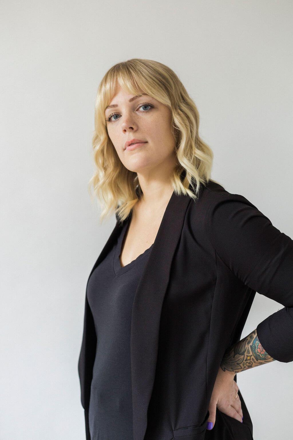 Hairstylist Nadia Domany